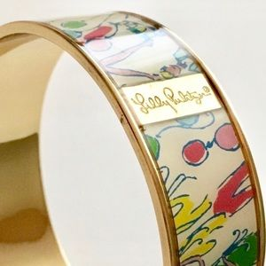 Lilly Pulitzer Celebration Balloon Bangle Bracelet